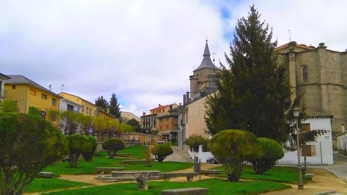 El pueblo serrano de El Espinar, en Segovia