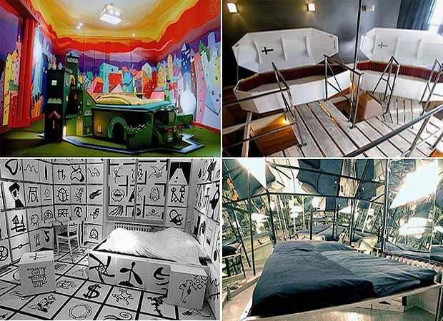 El extraño hotel Propeller Island City Lodge, en Berlín