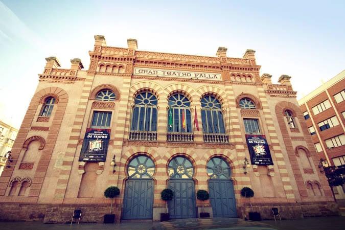 El Gran Teatro Falla, todo un símbolo en Cádiz