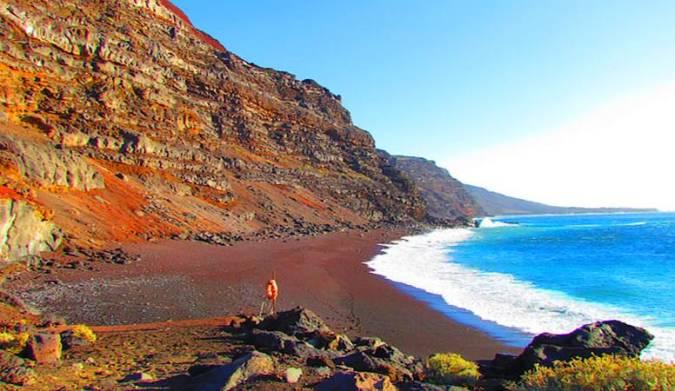 Playa de El Verodal, en El Hierro
