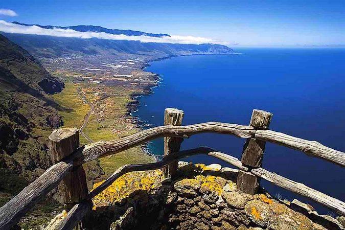 La isla de El Hierro, en las Islas Canarias