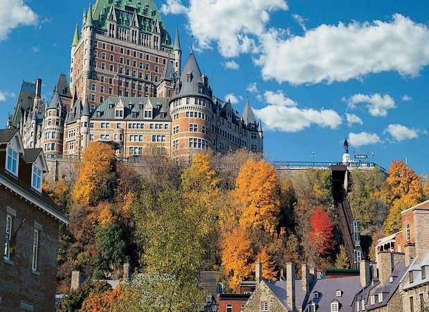 Hotel Fairmont Le Château Frontenac, en Quebec