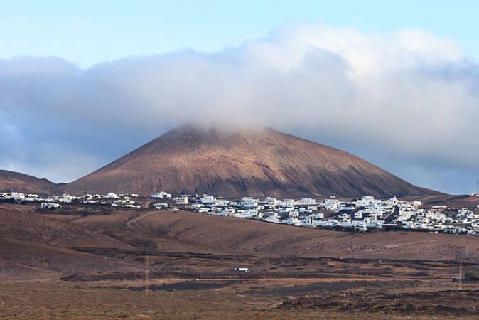 El municipio de Tías, en Lanzarote, Islas Canarias