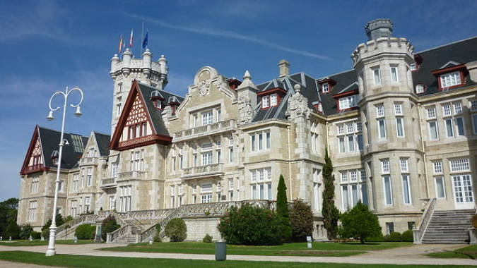 El Palacio de la Magdalena, en Santander