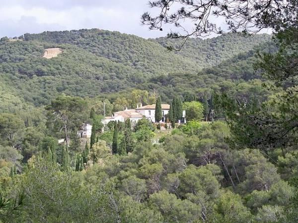 El Parque Natural Montes de Málaga en Andalucia