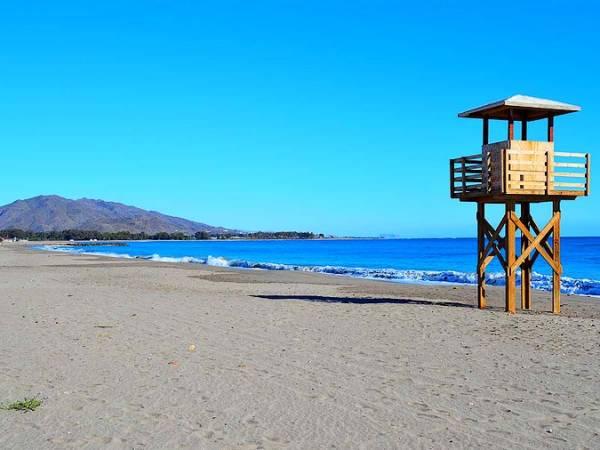 El Playazo de Vera, en Almería