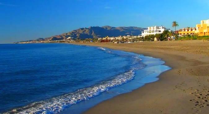 El Playazo, en Vera, Almería