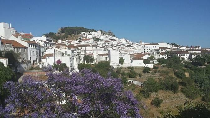 El pueblo blanco de Gaucín, en la Serranía de Ronda, Málaga