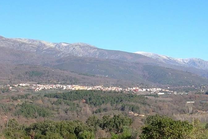 El pueblo de Villanueva de la Vera, en la provincia de Cáceres