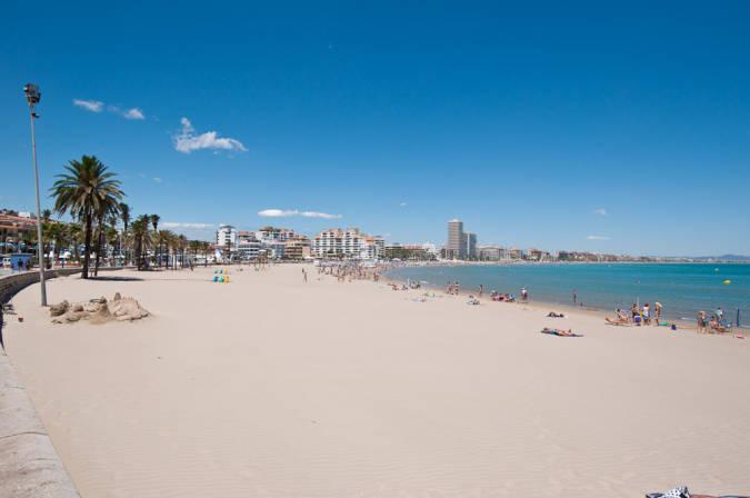 Playa urbana de Peñíscola
