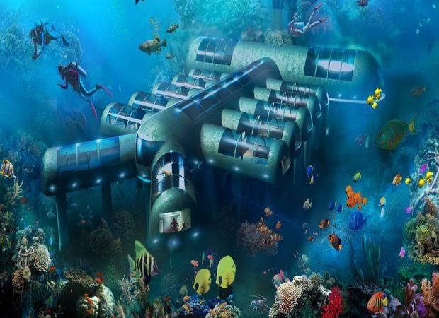 Planet Ocean Underwater Hotel, en Florida