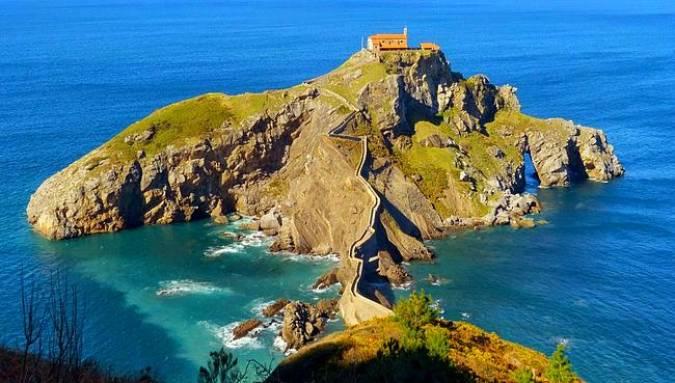San Juan de Gaztelugatxe, en Vizcaya, País Vasco