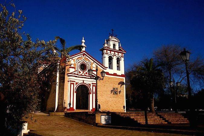 Ermita de la Divina Pastora, en Chucena, Huelva