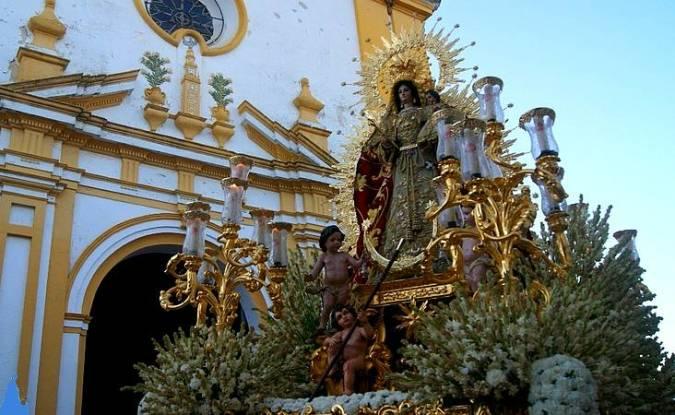 Fiestas Patronales de la Virgen de la Estrella, en Chucena, Huelva
