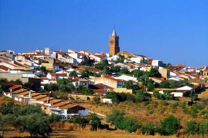 Fuenteheridos, en la provincia de Huelva