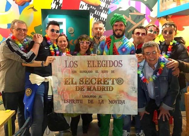 Escape City en Madrid: el Espíritu de la Movida