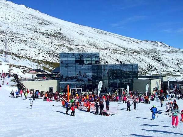 Estación de Esquí de Alto Campoo, en Cantabria