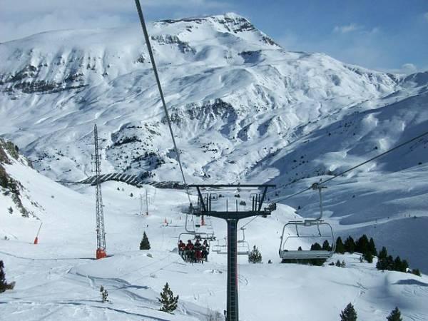 Estación de Esquí de Cerler, en el Pirineo Aragonés