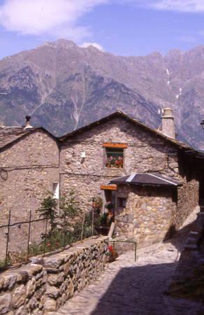 La Localidad de Cerler, en Benasque, Huesca
