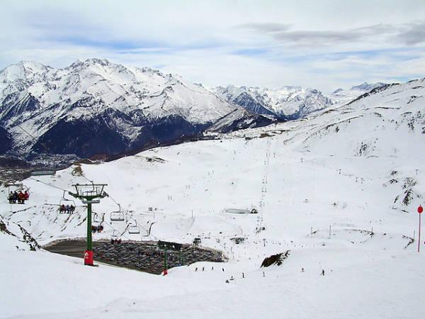 Estación de Esquí Aramón Formigal, en el Pirineo de Huesca