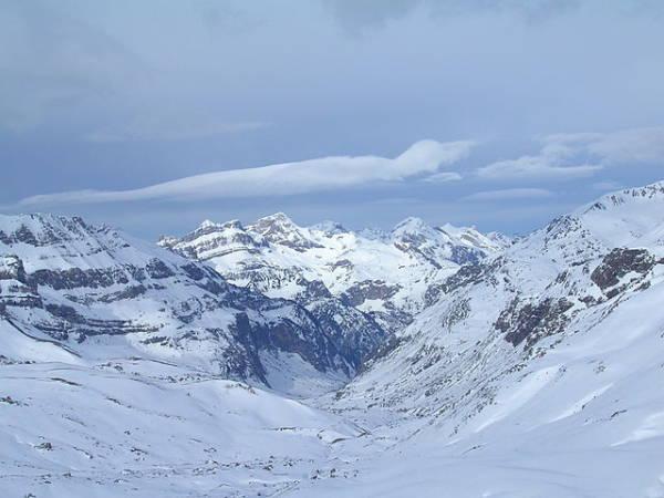 La zona de Izas, en Formigal, ideal para esquiadores de nivel medio