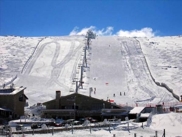 Estación de Esquí de La Covatilla, en Salamanca