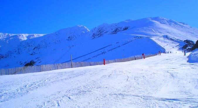 La Estación de Esquí de La Pinilla, en Segovia