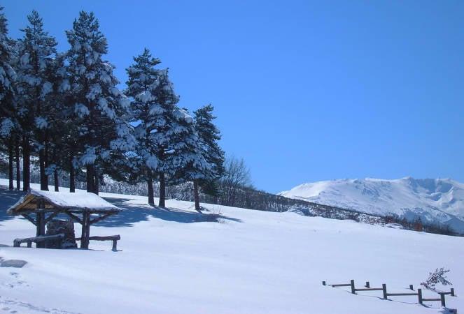 Estación de Esquí de La Pinilla, en Segovia