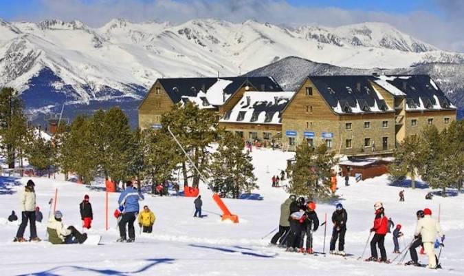 La estación de Esquí de Port Ainé, en Lleida