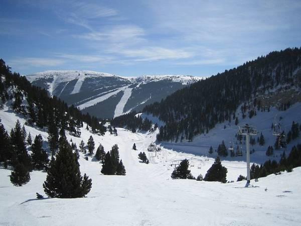 La estación de esquí de Port del Comte, en Lleida