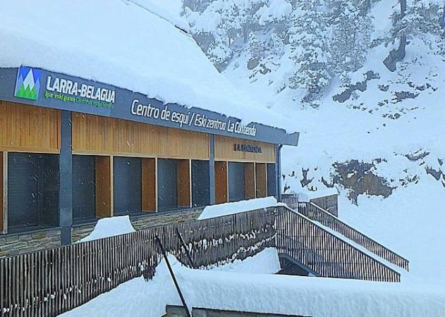 Estación de Esquí de Larra-Belagua, en Isaba, Navarra