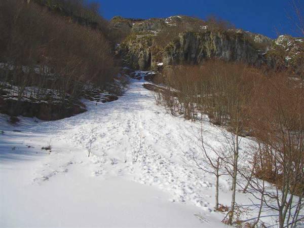 Pistas para esquí de fondo en la Estación de Esquí de Lunada