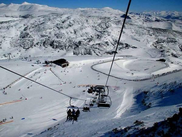 Estación de esquí de Leitariegos, en León