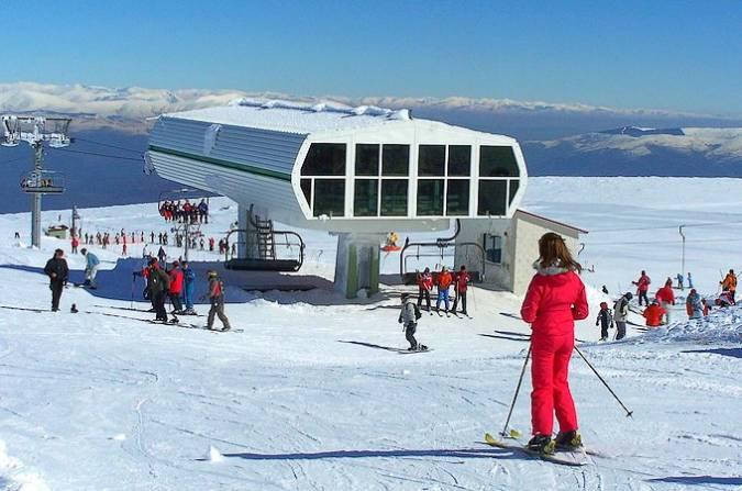 Manzaneda, la única estación de esquí de Galicia