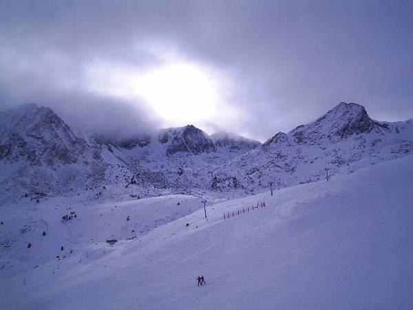 Estación de Esquí de Grandvalira, en Andorra