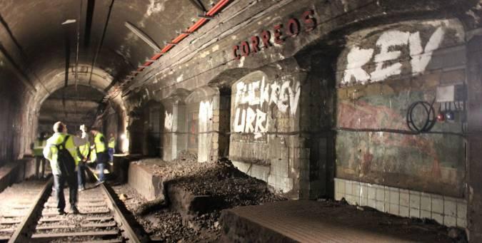 Turimo de misterio: 3 estaciones de metro fantasma en España