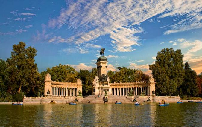 Estanque Grande de El Retiro, en Madrid