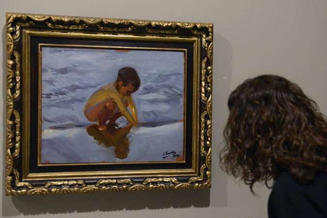 La exposición 'Sorolla. Cazando impresiones', en Valencia