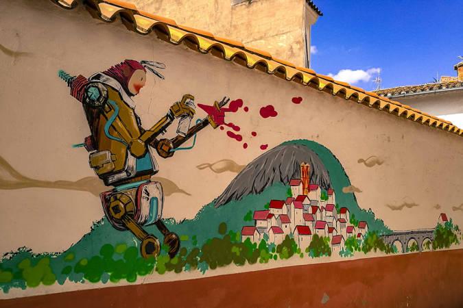 Fanzara, referente mundial del arte urbano