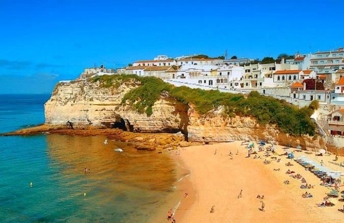 La cosmopolita ciudad de Faro, en el Algarve portugués