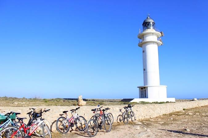 El Faro del Cabo de Barbaria, en Formentera