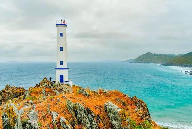 El Faro de Cabo Home, en Pontevedra