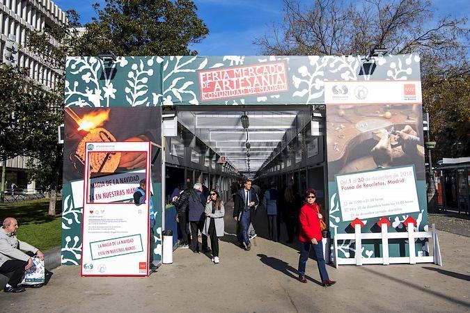 La Feria de Artesanía del Paseo de Recoletos de Madrid