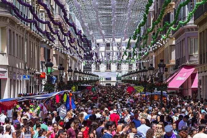 Feria de Agosto en la ciudad de Málaga