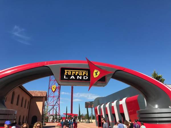 Ferrari Land, vertigo y diversión