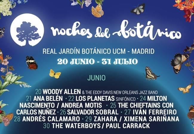 Festival Noches del Botánico en Madrid