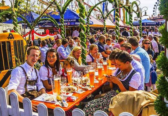 El Festival Oktoberfest, en Munich