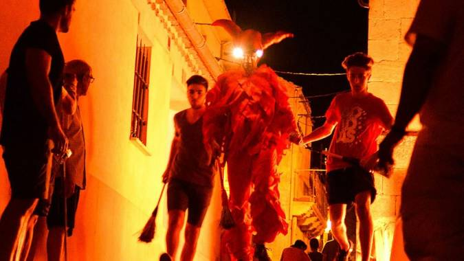La Fiesta de El Diablillo de Sepúlveda, en Segovia