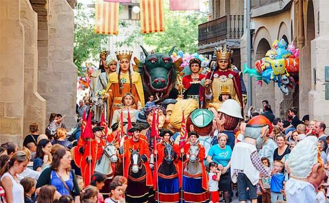 Las Fiestas de Otoño de Lleida, en Catalunya