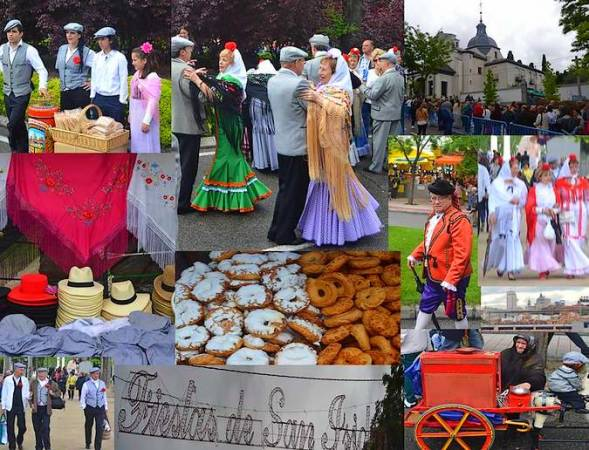 Fiestas de San Isidro, en Madrid